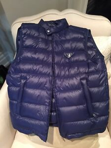 Prada Men Padded Nylon Vest, Brand New, size 52