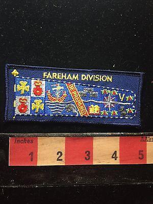 Fareham Division Be Prepared England Patch United Kingdom UK 71B5