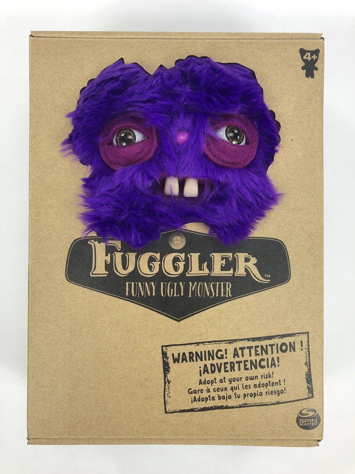 "Fuggler 9"" Rabid Rabbit Purple Fur - Spin Master Funny Ugly"