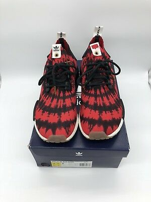 ADIDAS NMD R1 PK CONSORTIUM X NICE KICKS SIZE 10US 100% AUTHENTIC WITH