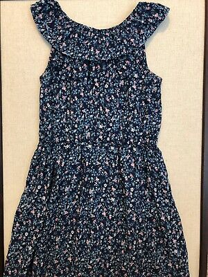 Carters girls dress Size 8, Floral Dress, Easter Dress, Spring, Carters Size 8 - Girls Easter Dresses Size 8
