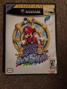 Mario Party 7 And Super Mario Sunshine GameCube Games