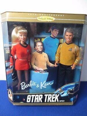 30th Anniversary KEN & BARBIE 1996 Star Trek Gift set, 15006 NIB