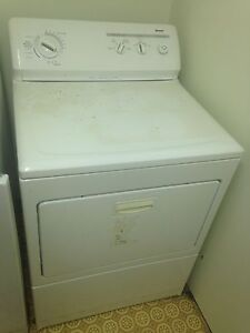 White Kenmore Dryer