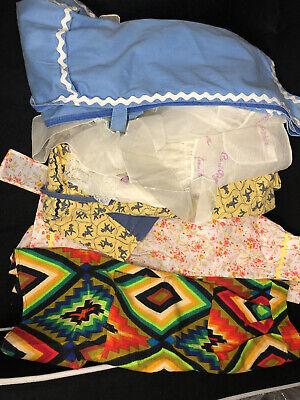 Vintage Aprons, Retro Aprons, Old Fashioned Aprons & Patterns lot of vintage aprons/smocks(5) $30.00 AT vintagedancer.com