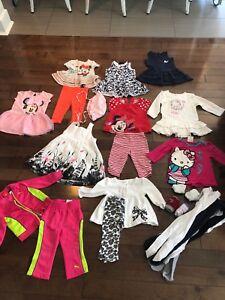 Lot d'ensemble pour fille de 12 mois