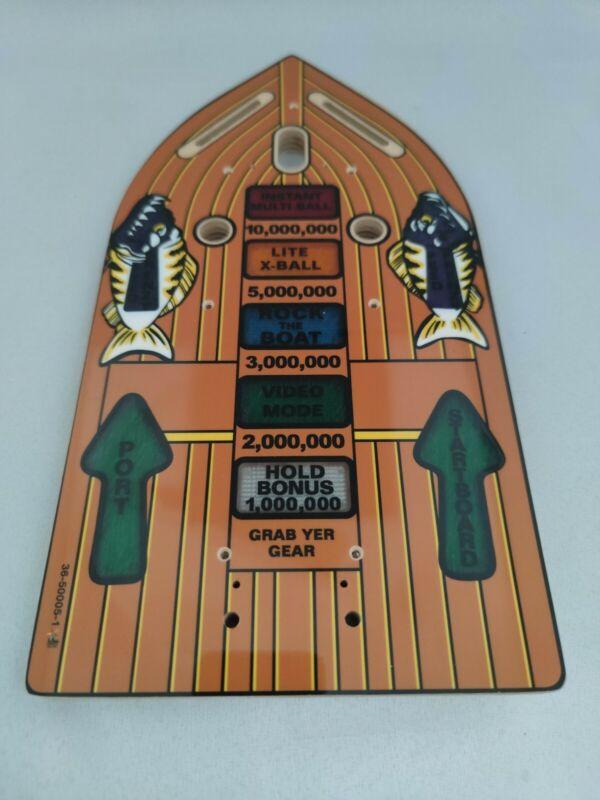 Fishtales Pinball Mini Playfield New 36-50005-1