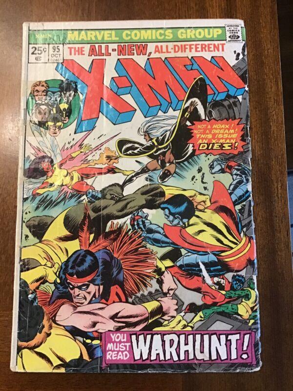 Marvel Uncanny X-men 95 Death Of Thunderbird Key Issue!