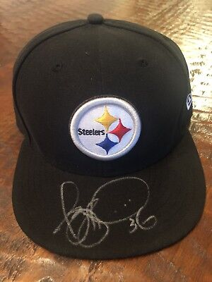 Jerome Bettis Signed Pittsburgh Steelers Hat Proof Coa Football Autographed