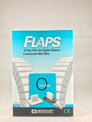Flaps For Dental X-ray Film Digital Sensor Cushioned Bite 500 Tabs -fda
