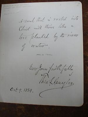 Theodore L. Cuyler 1884 AQS - Bible