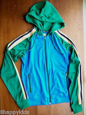 Junior Ladies Track Jacket (EUC Juniors Ladies Nick & Mo Hooded Track Jacket Full Zip Nordstroms Medium M )