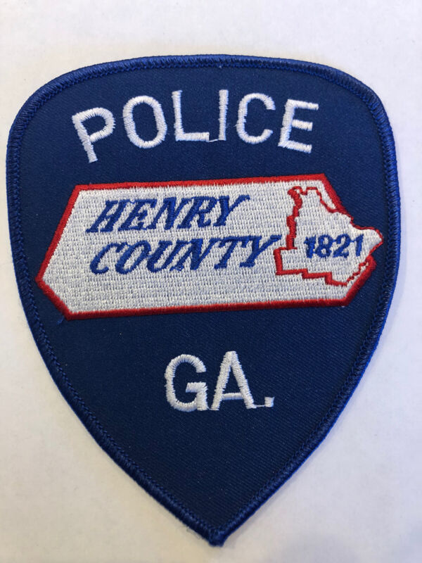 Henry County Georgia Police Patch ~ New Condition