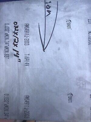 Titanium Sheet 6al-4v .032 X 12 X 14 Ams 4911 Mill Vsmpo
