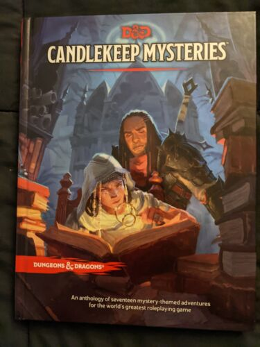 Dungeons & Dragons - Candlekeep Mysteries - Accessory - Hardcover - NEW