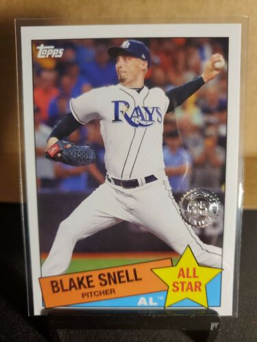2020 TOPPS SERIES 2 BLAKE SNELL ALL STAR CARD TAMPA BAY RAYS - $0.50