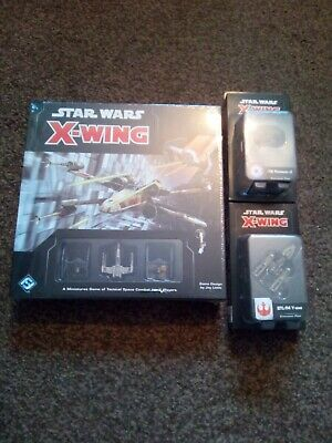 Star Wars X Wing Miniatures 2.0 Core Game Sealed With Y Wing And Tie advanced