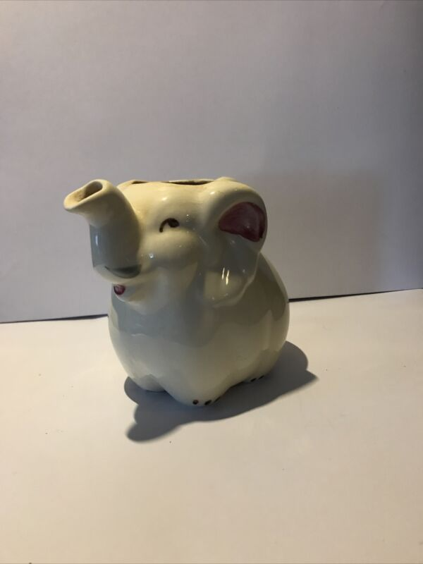 Vintage Shawnee Elephant Creamer USA Pottery