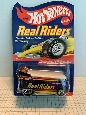 Hot Wheels VW Drag Bus Real Riders