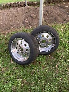 Dragway Mag wheels