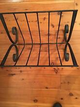 CAST IRON MAGAZINE RACK OR BOOK STAND Miranda Sutherland Area Preview