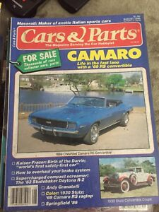 Cars and parts magazines