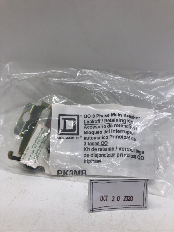 SQUARE D BREAKER Lockoff Retaining Kit PK3MB for QO Load Center NEW