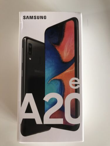 Android Phone - SAMSUNG Galaxy A20e - 32 GB Android Mobile Smart Phone Black