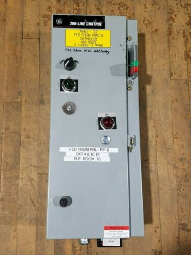 GE General Electric 300-Line Combination Motor Controller Starter Switch Breaker