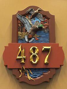 Numéros de portes résidentiels