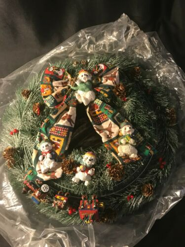 Christmas Train Wreath Motion Activated