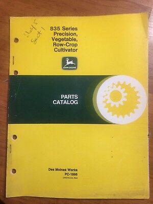 John Deere 835 Precision Vegetable Row-crop Cultivator Parts Catalog