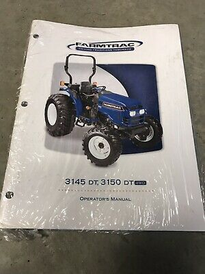 New Genuine Farmtrac 3145 Dt 3150 Dt Tractor Operators Operation Manual