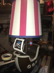Kids Pirate Lamp