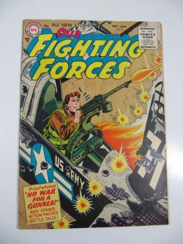 Our Fighting Forces #8 (DC Comics 1955) VG Silver Age War comic