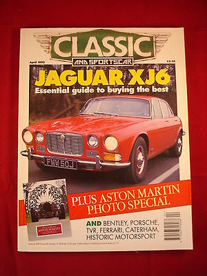 Classic and Sports Car - April 1995 - Jaguar XJ6 - guide to buying the