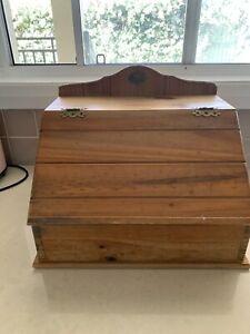 Bread box wooden