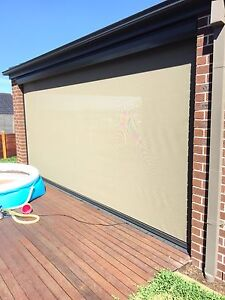 Ziptrak Outdoor Blinds & Shades Melbourne - FREE MEASURE & QUOTE Lalor Whittlesea Area Preview