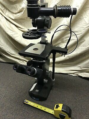 Trinocular Wild Heerbrugg M-40 82641 Switzerland Lab Microscope