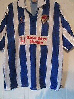 Chester City FC 1998-1999 Home Football Shirt Size XXL /43434 image