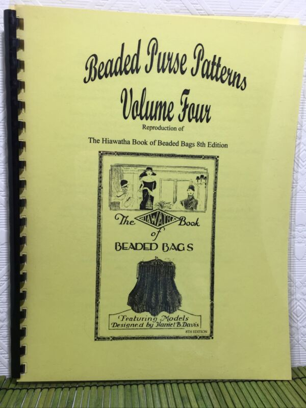 Beaded Purse Patterns Volume 4 Reproduction Hiawatha Book of Beaded Bags 8th Ed