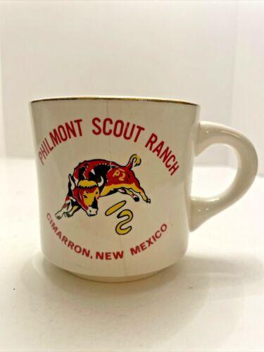 Vintage BSA Boy Scouts Coffee Cup Mug Tea Philmont Scout Ranch Cimarron NM