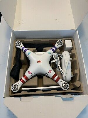 DJI Phantom 3 Standard Quadcopter Camera Drone Acclimated to