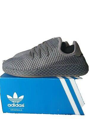 Adidas Deerupt runner, grey 9.5 uk in original box