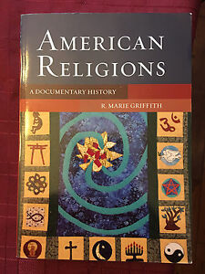 American Religions: a documentary history  Cambridge Kitchener Area image 1