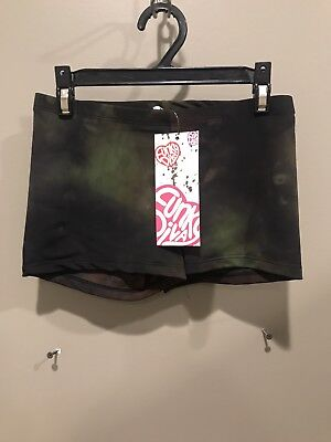 Camo Booty (NEW WITH TAGS ADULT X-SMALL CAMO BOOTY SHORTS BY FUNKY DIVA)