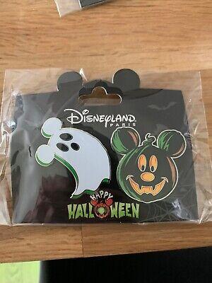 Halloween Et Citrouille (PINS PIN Halloween OE Halloween Fantôme Et Citrouille Ghost DISNEYLAND)