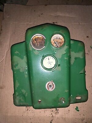 John Deere Late Styled B Dash Bezel With Oil Amp Water Gauge Bn Bw