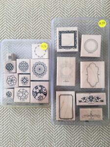 Stampin Up Wood Stamps