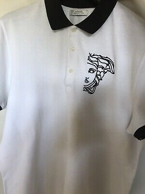 Versace Collection Polo Shirt Large